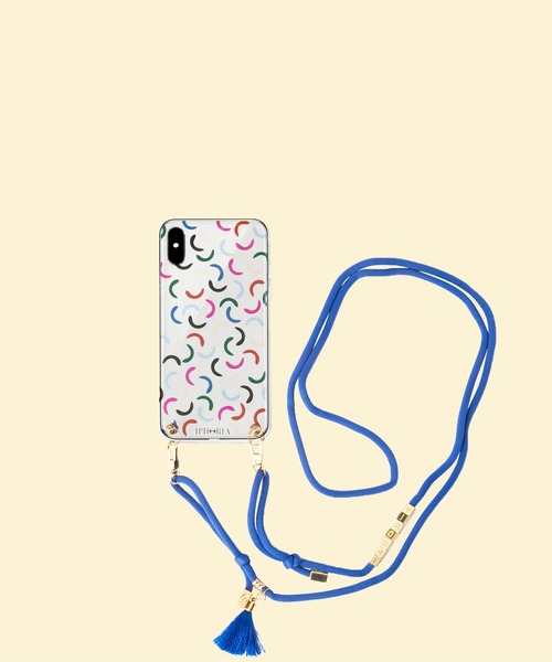 iphoria(アイフォリア)の「【IPHORIA アイフォリア】アイフォンケース ショルダーケース Necklace Case for Apple iPhone XS Max- Necklace case collection(スマホケース/カバー)」|クリア