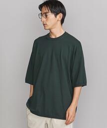 BY オーバーサイズド ニットTシャツ