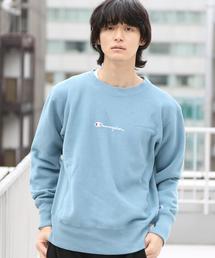 【WEB限定】Champion(チャンピオン)リバースウィーブ(R)製品染めクルーネック