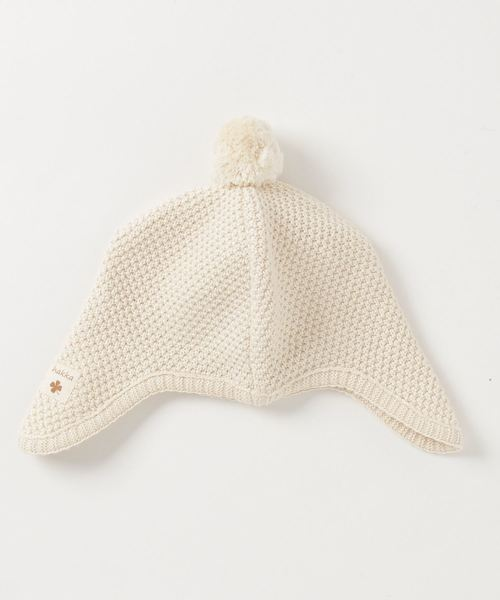 hakka baby(ハッカベビー)の「[ベビー・オーガニック]コットン帽子(ニットキャップ/ビーニー)」|キナリ