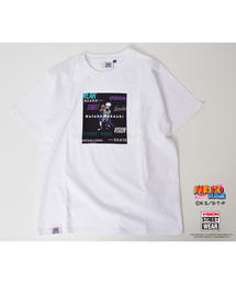【VISION×NARUTO】ナルトコラボ キャラクター&ロゴプリントクルーネックTシャツ(Tシャツ/カットソー)