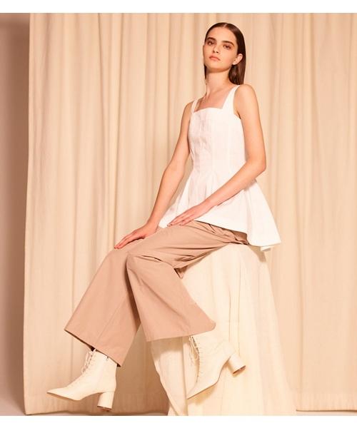 美品  【セール】Taffeta CIEL Wide-Leg セール,SALE,LE Pants(パンツ)|LE CIEL Wide-Leg BLEU(ルシェルブルー)のファッション通販, 見てね価格BAMBOO:4c4108d0 --- gnadenfels.de