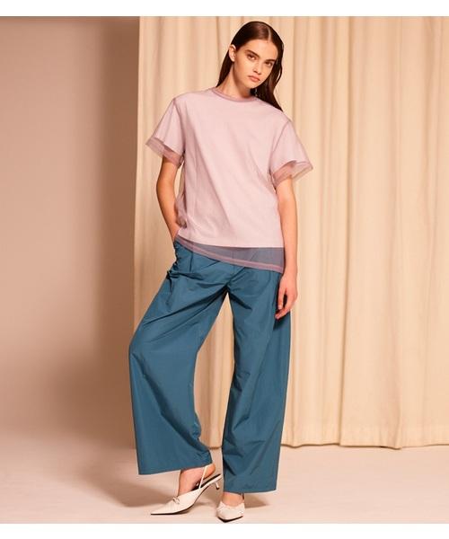 【祝開店!大放出セール開催中】 【セール CIEL】Taffeta Wide-Leg Pants(パンツ)|LE CIEL CIEL セール,SALE,LE BLEU(ルシェルブルー)のファッション通販, JIGGYS SHOP:9593e890 --- 888tattoo.eu.org