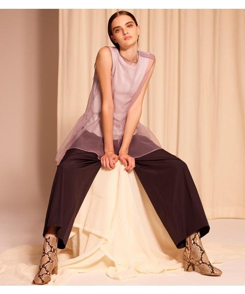 注目の 【セール】Taffeta Wide-Leg Wide-Leg Pants(パンツ) セール,SALE,LE LE CIEL CIEL BLEU(ルシェルブルー)のファッション通販, 和柄アイテムshop 小都:f2c9a2fb --- 888tattoo.eu.org