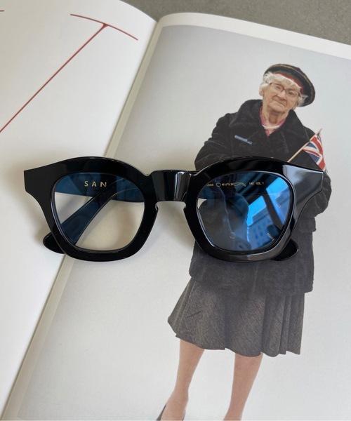 【SANSeLF】trapezpid sunglasses sana3