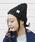 reca(レカ)の「【reca大人気アイテム】ケーブル編みニット帽(ニットキャップ/ビーニー)」|ブラック系その他2