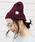 reca(レカ)の「【reca大人気アイテム】ケーブル編みニット帽(ニットキャップ/ビーニー)」|レッド系その他2