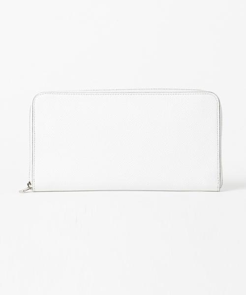 FARO(ファーロ)の「LONG ZIP WALLET BOLERO / ロングジップウォレット ボレロ(財布)」|ホワイト