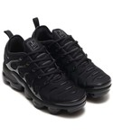NIKE | NIKE AIR VAPORMAX PLUS (BLACK/BLACK-DARK GREY)【SP】(スニーカー)