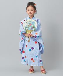 【WEB限定】<三勝>女児用浴衣(5歳〜6歳)