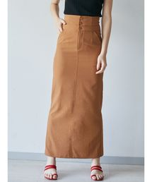 LAGUNAMOON(ラグナムーン)のウエストレイヤリングマキシスカート(スカート)