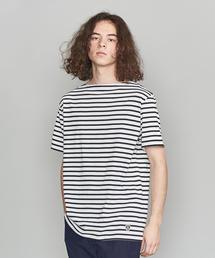 <ORCIVAL> 40/2 BORDER SSL/Tシャツ ◆