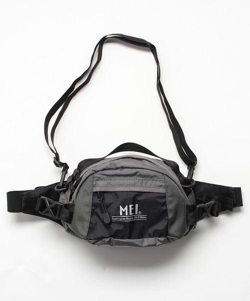 【 MEI / メイ 】 スクランブラーナイロン ウエストバッグ ボディバッグ SCRAMBLER NYLON WAIST BAG