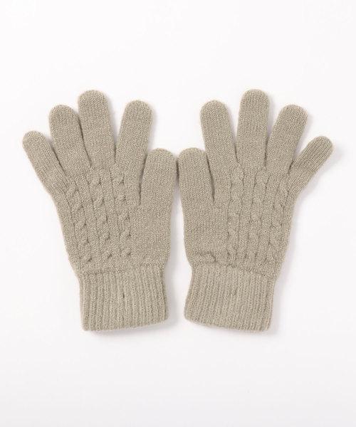 LBC(エルビーシー)の「プレミアムシューケーブル5指手袋(手袋)」 ベージュ