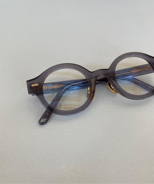【SANSeLF】round clear sunglasses sana4