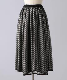 < BLAMINK(ブラミンク)> P S/P LAME JQD スカート