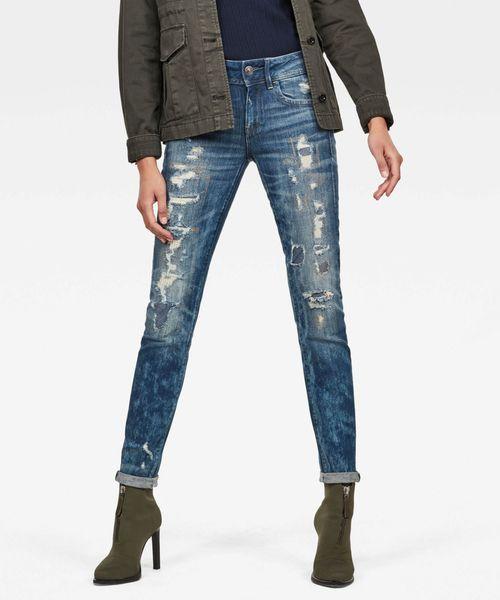 【第1位獲得!】 Lynn Mid Waist Skinny ロゥ Restored Skinny Jeans(デニムパンツ)|G-STAR Mid RAW(ジースターロゥ)のファッション通販, 健康スタイル:496f1032 --- apiceconstrutora.com.br