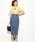 Lee(リー)の「【Lee×ViS】デニムタイトロングスカート(デニムスカート)」|詳細画像