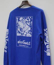 WILD THINGS(ワイルドシングス)のWILDTHINGS × GASIUS FABRICK/ワイルドシングス × ガシアス ファブリック L/S TEE ロングスリーブT(Tシャツ/カットソー)