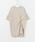 SENSE OF PLACE by URBAN RESEARCH(センスオブプレイスバイアーバンリサーチ)の「ツイストチュニックTシャツ(5分袖)(Tシャツ/カットソー)」|詳細画像