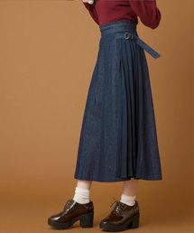 OLIVE des OLIVE(オリーブデオリーブ)のサイドプリーツスカート(スカート)