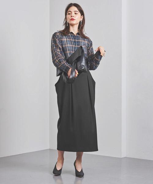 <ELIN(エリン)>ハイウエスト スカート
