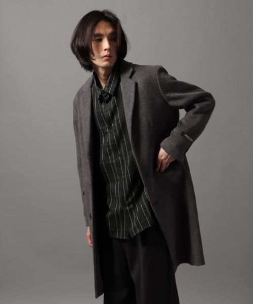 希少 黒入荷! HARECASHEEPチェスターコート(HARE)(チェスターコート)|HARE(ハレ)のファッション通販, フラワーキッズ:d89da1e8 --- 5613dcaibao.eu.org