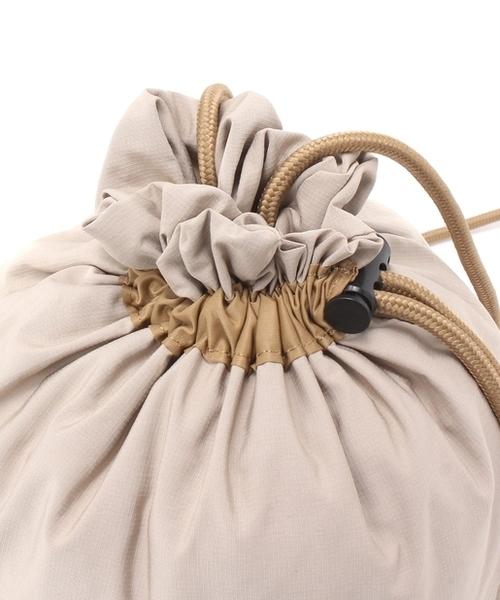 【Dickies/ディッキーズ】RIPSTOPMINIPOUCH/リップストップミニポーチ/巾着ショルダー