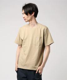 Danton(ダントン)の【DANTON】ポケットTシャツ SOLID MEN(Tシャツ/カットソー)