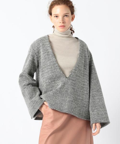 お気に入りの BAUME ヘリンボーン柄 Vネックプルオーバー(ニット BUYING/セーター)|TOMORROWLAND(トゥモローランド)のファッション通販, 徳島市:0e0df485 --- pyme.pe
