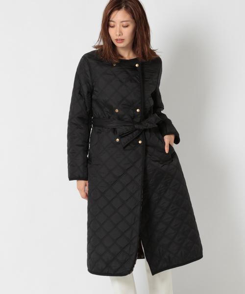 【再入荷!】 キルティング裏ボアロングコート(その他アウター)|BABYLONE(バビロン)のファッション通販, SuanChaang:56fa6d56 --- apiceconstrutora.com.br