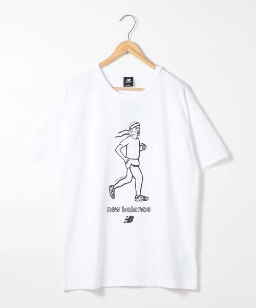 【WEB限定】New Balance(ニューバランス)ARTIST プリントTシャツ