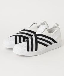 adidas(アディダス)の「adidas アディダス SS SLIPON W スーパースター スリッポン AC8581 WHT/WHT/BLK(スニーカー)」