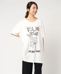 THE GHOST WOLVES/POLAR POWER ビッグT-SHシャツ