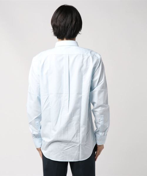 [GIORDANO]コットンボタンシャツ