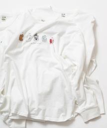 grn(ジーアールエヌ)の5柄20/-天竺 プリントL/STEE(Tシャツ/カットソー)