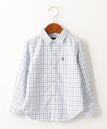 ★【キッズ】ストライプ&チェックシャツ ロングスリーブ