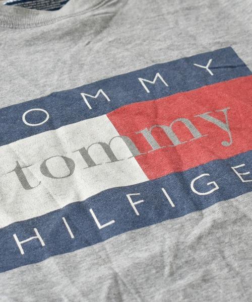 TOMMY HILFIGER(トミーヒルフィガー)の「【ヴィンテージ古着】90's TOMMY HILFIGER/トミーヒルフィガー クルーネックスウェット(スウェット)」 詳細画像