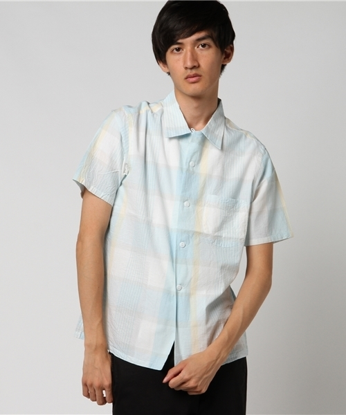 TOWN CRAFT/タウンクラフト MADRAS OPEN SHIRTS