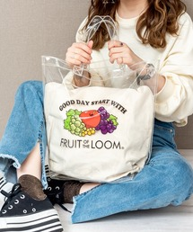 FRUIT OF THE LOOM クリア トートバッグクリア