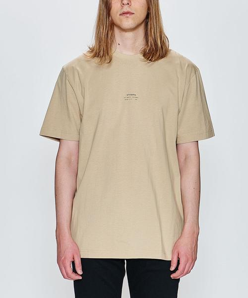 <STAMPD> STACKED LOGO TEE/Tシャツ