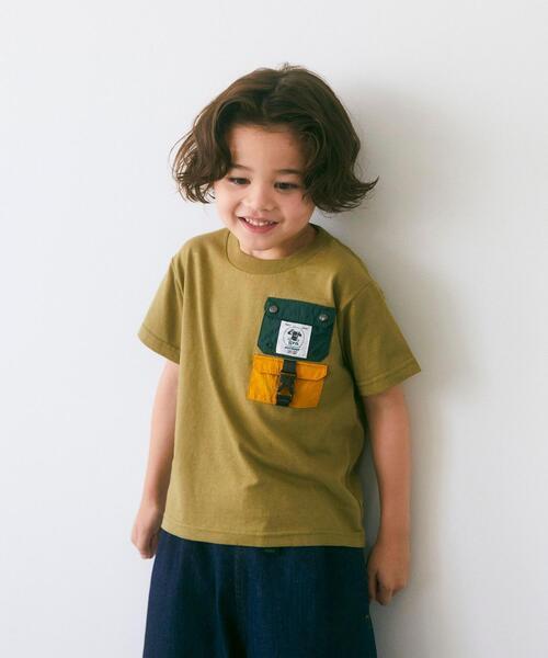 【別注】TJ EX<grn outdoor (ジーアールエヌ アウトドア)>ポケットTシャツ XS-S
