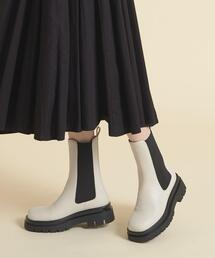 【WEB限定】サイドゴア ショートブーツ55●↑ ■