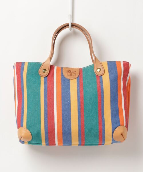 IL BISONTE(イルビゾンテ)の「IL BISONTE / CANVAS x LEATHER / STRIPE TOTE BAG(トートバッグ)」|その他1