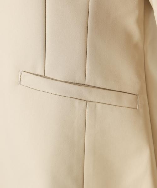 【手洗いできる】ストレッチノーカラージャケット