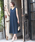 TRUDEA(トルディア)の「ベルト付き Vネックロングワンピース/ 結婚式・成人式・謝恩会ワンピース・パーティードレス(ドレス)」|ネイビー