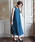 TRUDEA(トルディア)の「ベルト付き Vネックロングワンピース/ 結婚式・成人式・謝恩会ワンピース・パーティードレス(ドレス)」|詳細画像
