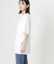 【 GOODWEAR / グッドウェア 】レギュラーフィット 半袖クルーネックポケットTシャツ ヘンプコットンオフホワイト