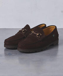 <Paraboot(パラブーツ)> UASP BIT SUEDE LOAFER†