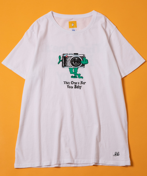 JUNGLES×FR2 THIS ONES FOR YOU SS TEE